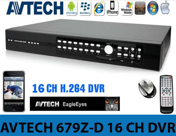 AVTECH 679Z-D 16 CH DVR