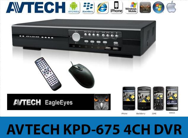 AVTECH KPD-675 4CH DVR