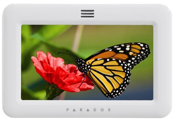 TM50 πληκτρολόγιο με οθόνη αφής της Paradox