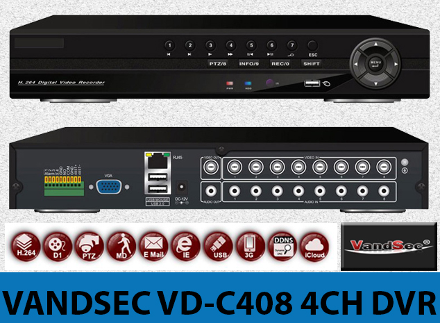 VANDSEC VD-C408