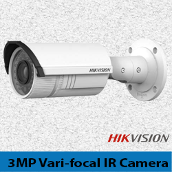 Hikvision 3MP Vari-focal IR Bullet Camera