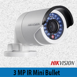 Hikvision 3MP IR Mini Bullet Camera